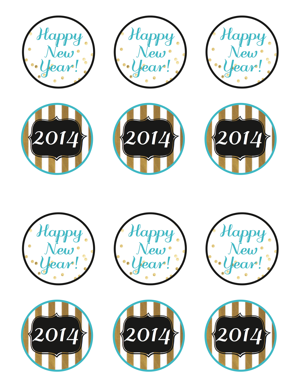 Free New Year S Party Printables