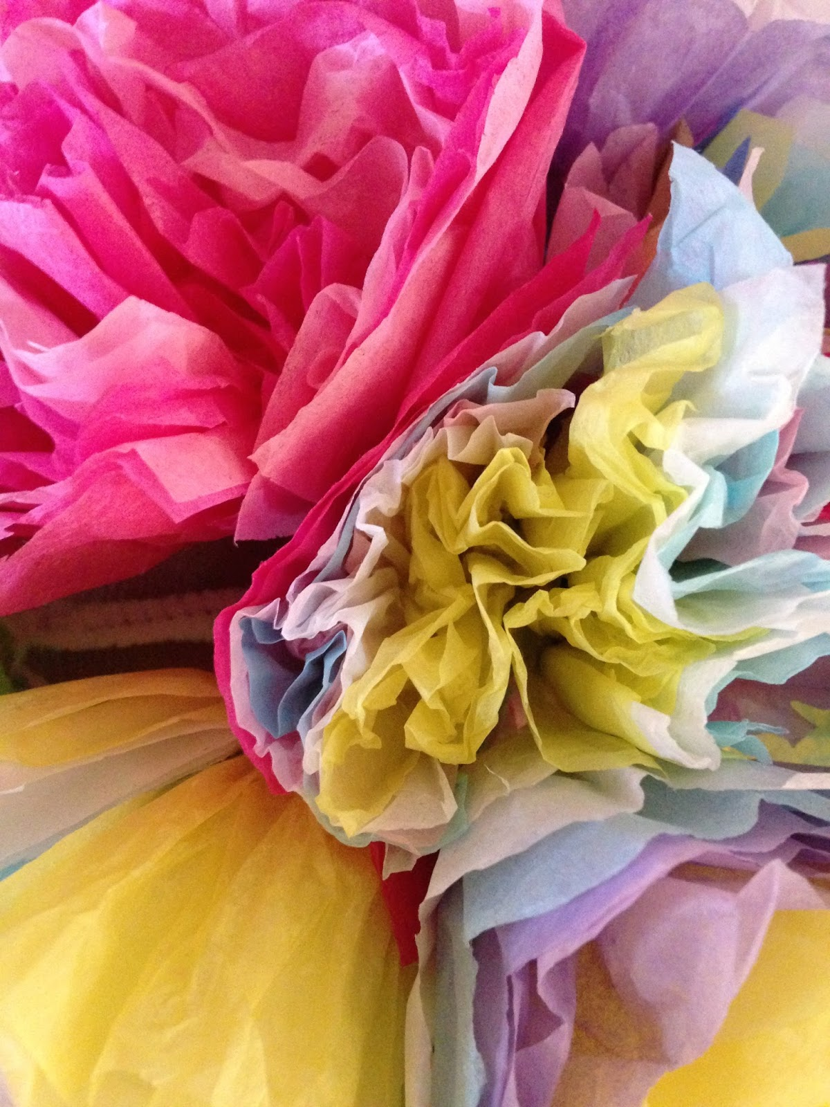 Art Sessions With Mary Deveau Tissue Paper Flowers