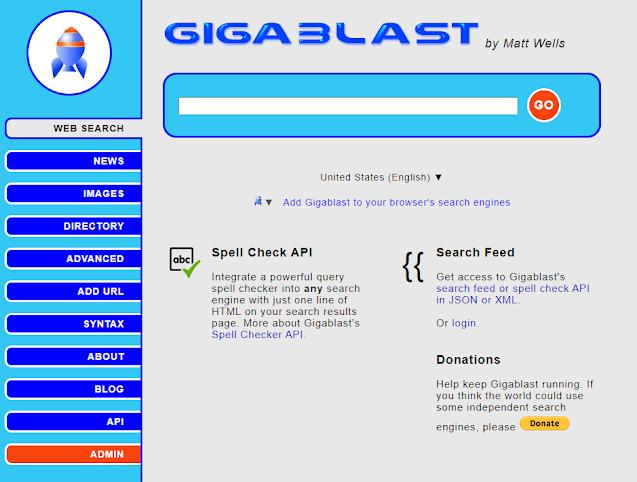 Lista com sites buscadores semelhantes ao Google que prometem maior privacidade favoritei.com.br