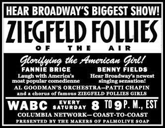 ARCANE RADIO TRIVIA: The Ziegfeld Follies of the Air!