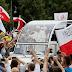 Papa a Czestochowa, dona rosa d'argento a Madonna Nera