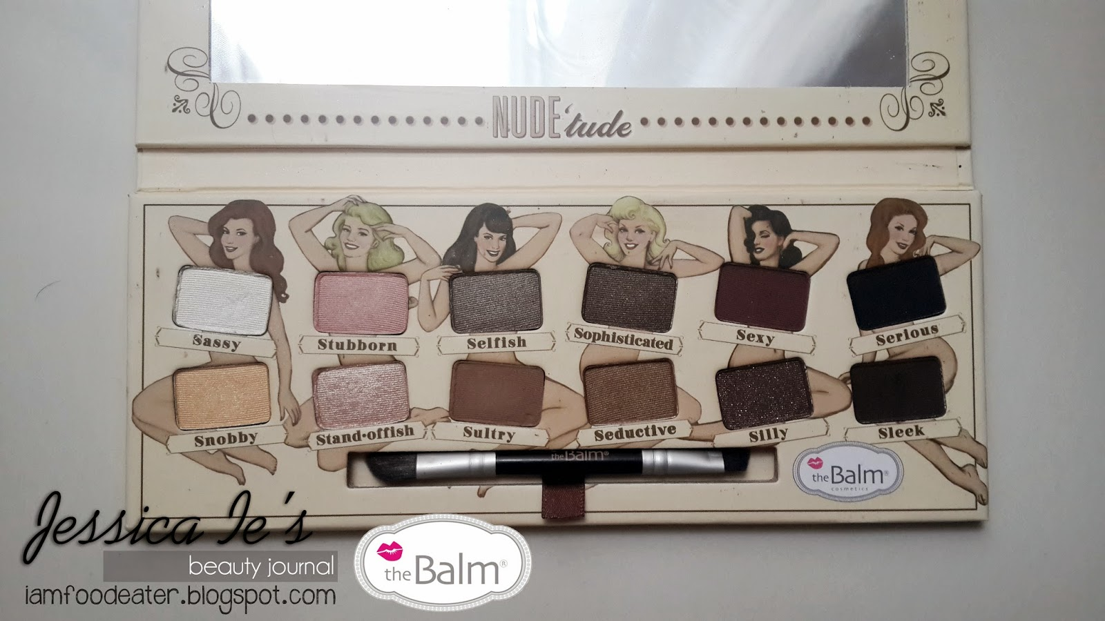 The Balm Nudetude palette , review, swatches - Monicas