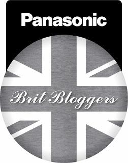 Panasonic Brit Blogger Badge