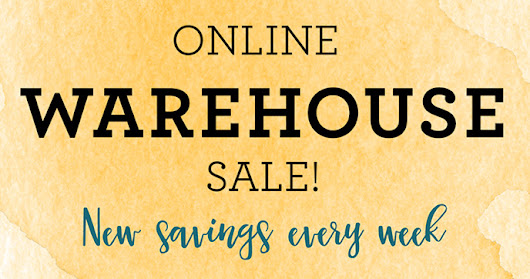 Warehouse Sale Continues