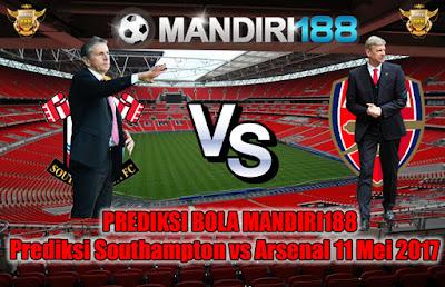 AGEN BOLA - Prediksi Southampton vs Arsenal 11 Mei 2017
