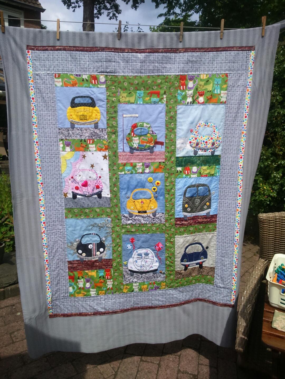 Mijn eigen site de kevers zijn klaar - Quilts gele ...