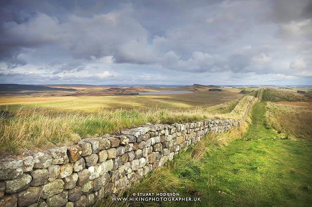 Hadrian's Wall Walk - best view - map - facts Roman wall
