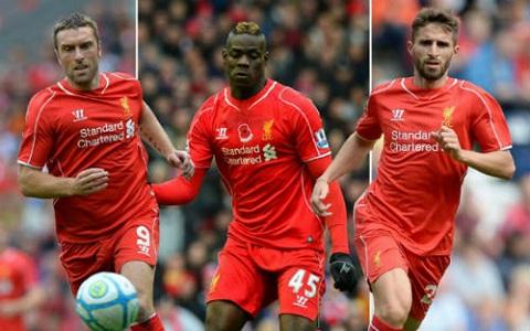 Những bản hợp đồng thất bại của Liverpool
