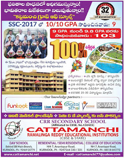 Kattamanchi rangareddy institutions kurnool