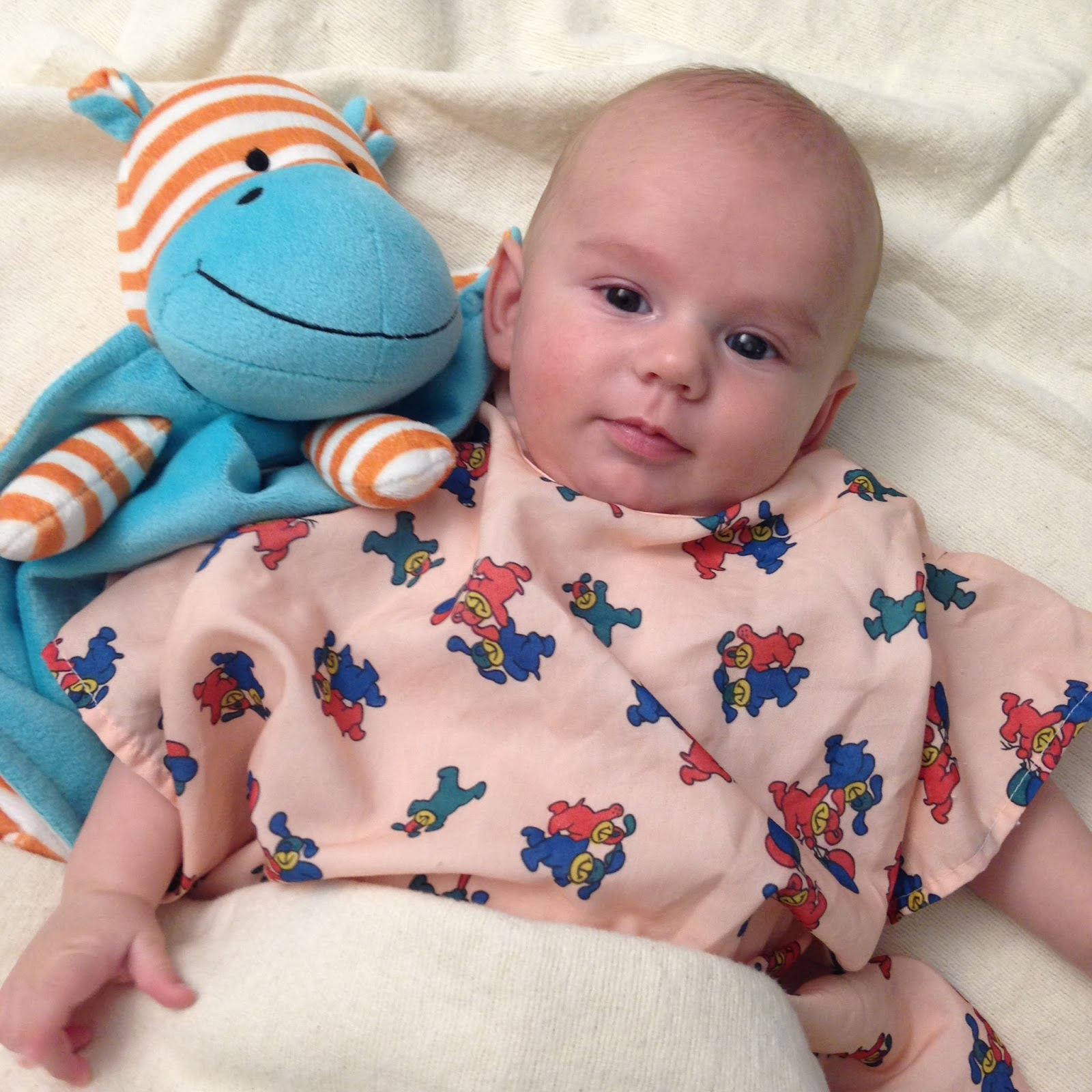 Thomas Dean {3 Months & Contacts Update}