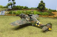 Galerie photo du Fw 190 A-5 d'Eduard au 1/48.