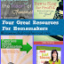 Four Great Resources for Homemakers