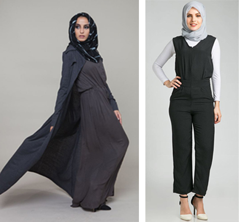 model baju jumpsuit muslim