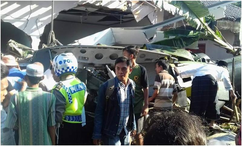 Korban tewas helikopter TNI AD yang di Kalasan tiga orang