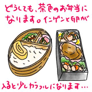 ©さんがつ日記 お弁当 働く主婦のお弁当作り