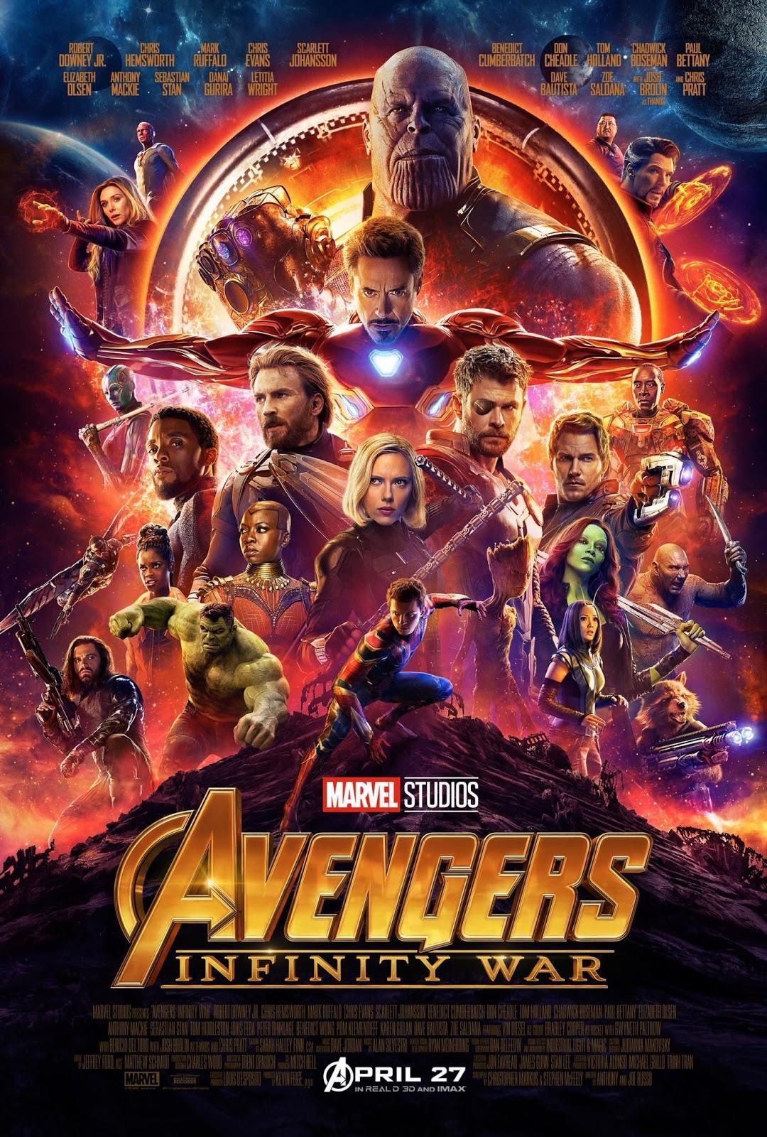 Avengers: Infinity War (2018) มหาสงครามอัญมณีล้างจักรวาล