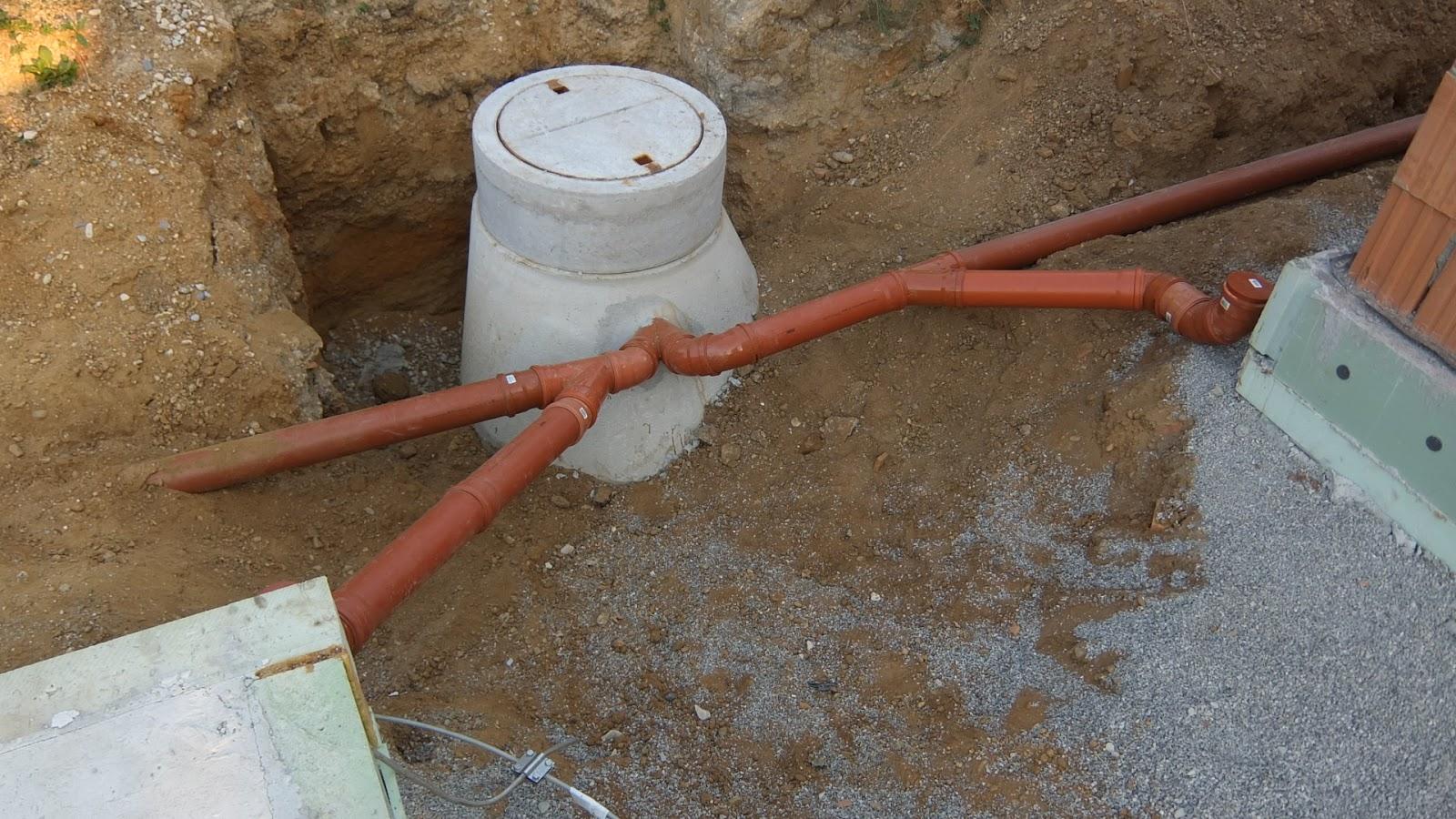 Beliebt AuA's Baublog: Regenwasserrohre verlegt AM82