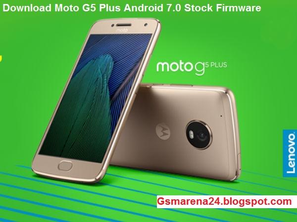 Moto G5 Stock Firmware