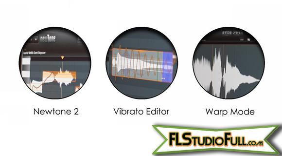FL Studio 11 - Atualização de Plugins - Newtone 2, Vibrato Editor, Warp Mode