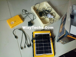 Solar charger kits