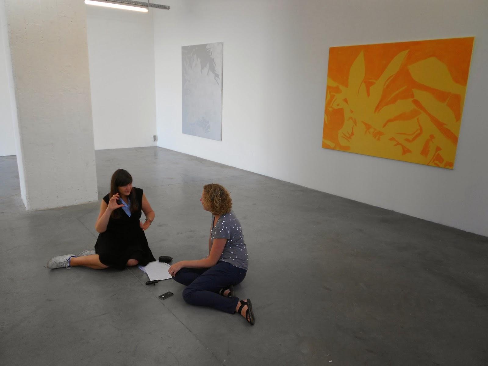 Gesprekken Met Hedendaagse Kunstenaars Interview Met Evi Vingerling