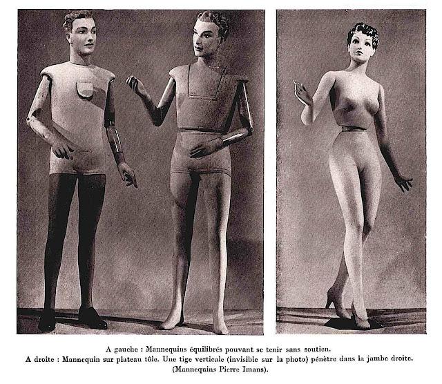 Pierre Imans mannequins photograph large
