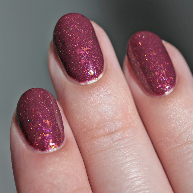 Top Shelf Lacquer With Visions of Sugar Plums