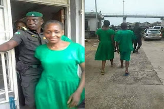 Kemi Olunloyo Arraigned in PortHarcourt Magistrate Court today