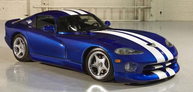 Dodge Viper American sports car