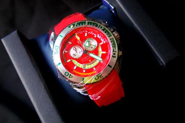 スピニカーの腕時計 モデル:Amarfi