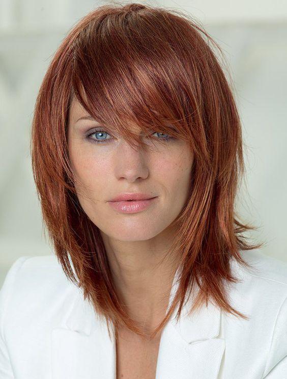 La moda en tu cabello cortes de pelo en degrad - Corte de melena corta ...