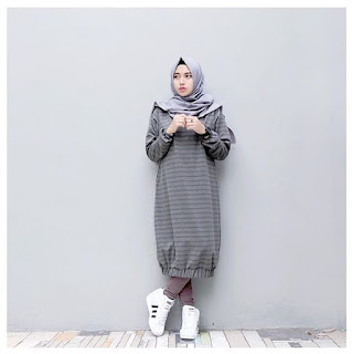 fashion hijab remaja sederhana