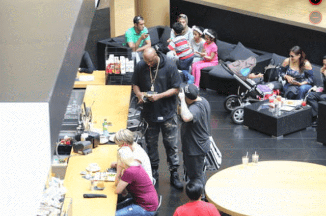 1a5 Photos: Lamar Odom seen drinking again months after overdose