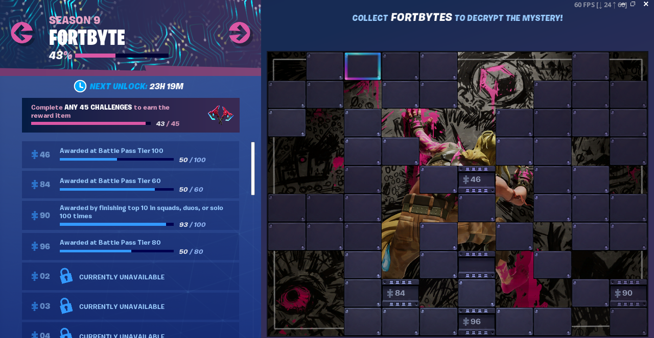Accessible by solving the pattern match puzzle outside a desert junkyard FORTBYTE Mission #28