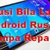 Solusi Layar android tidak fungsi dengan bantuan Mouse