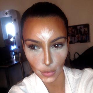 Kim Kardashian,  Facial Contouring