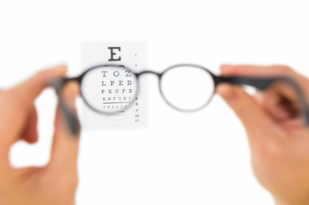 Get your eye prescription slip