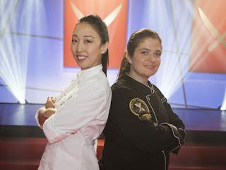 Alex Guarnaschelli Judy Joo Iron Chef