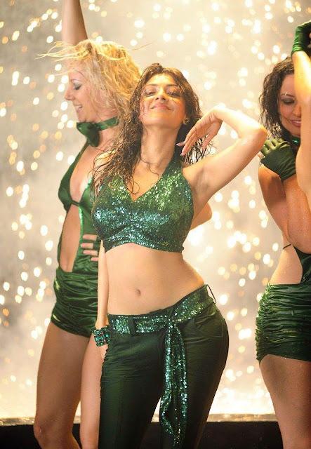 Kajal Agarwal navel show dance