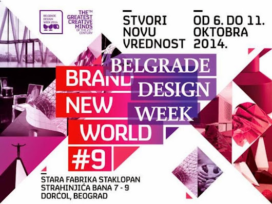 Belgrade Design Week: brand new world
