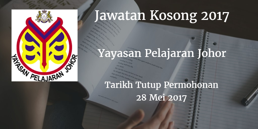 Jawatan Kosong YPJ 28 Mei 2017