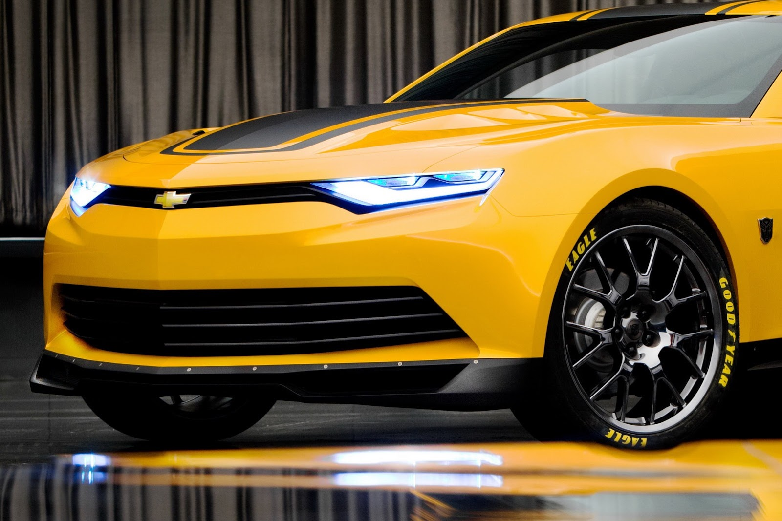 Camaro Bumblebee Concept 2014   AUTO PLANET