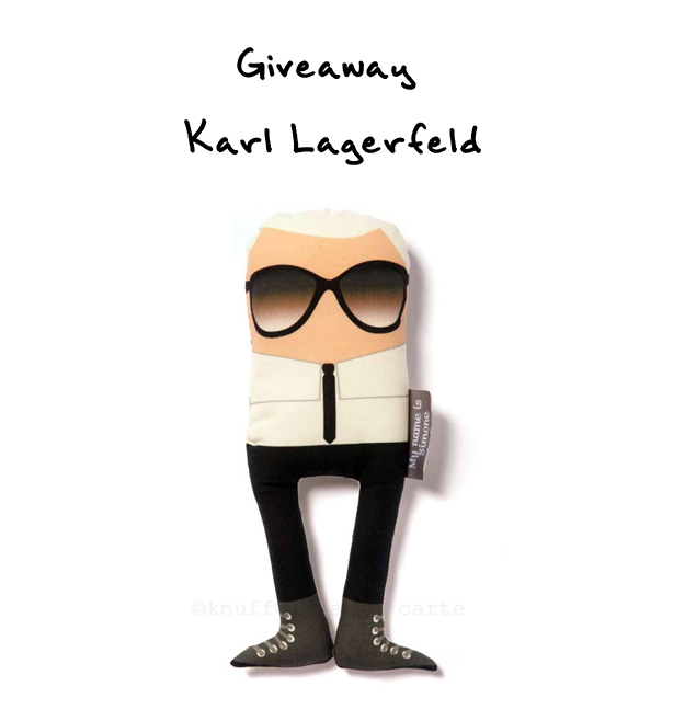 giveaway Karl Lagerfeld