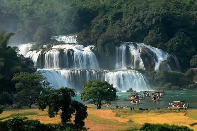 Ban Gioc among Earth's most beautiful waterfalls 2