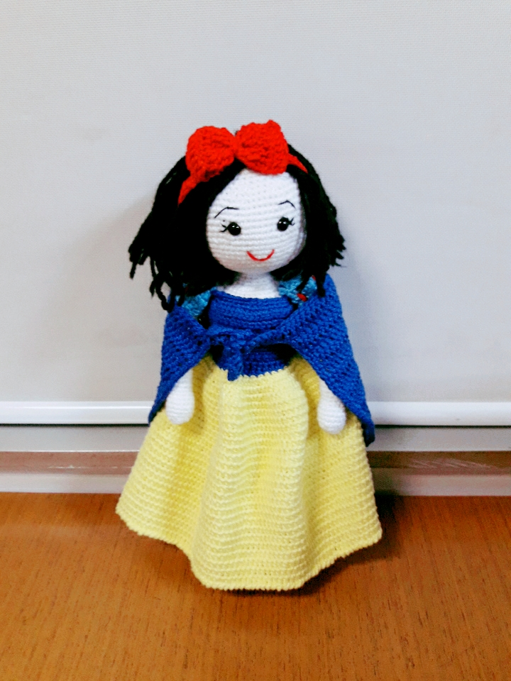 Amigurumi Princesas Disney : Amigurumania Total : Princesas da Disney: Branca de Neve ...