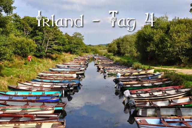 Irland 2014 - Tag 4 | Titelbild mit Booten bei Ross Castle