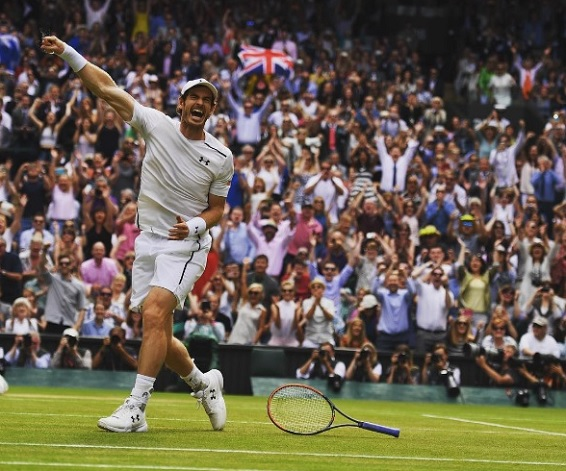 Kemenangan Kedua Andy Murray Di Wimbledon
