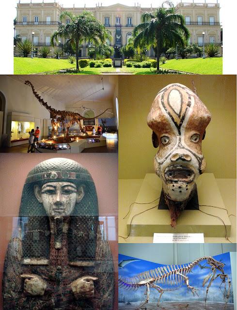 Museu Nacional do Rio de Janeiro - acervo