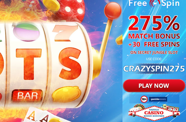 275% welcome match and 30 free spins bonus | Freespin casino