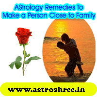 Astrology remedies to keep a person attached to family, What to do to keep a person attached with family, What planets makes a person away from family, Easy way to attract a person towards family.